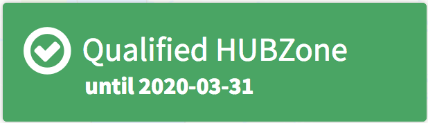 hubzone qualified with expiration